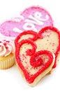 Valentines cookies Stock Image