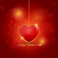 Valentines Day background Stock Image