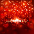 Valentines day background abstract vector illustration Stock Photo