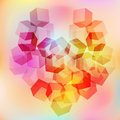 Valentines day background pictures abstract heart symbols of love Stock Photo