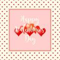 Valentines day background. Vintage style