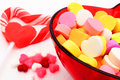 Valentines Day candy Stock Image