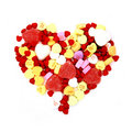 Valentines Day candy heart Royalty Free Stock Images