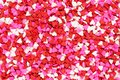 Valentines Day candy heart background Royalty Free Stock Photo