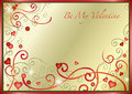 Valentines Day card Royalty Free Stock Image