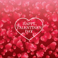Valentines Day card, banner design Royalty Free Stock Photo