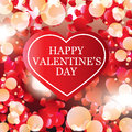 Valentines Day card, banner design Royalty Free Stock Image
