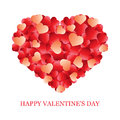 Valentines Day card, banner design Royalty Free Stock Photos