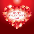 Valentines Day card, banner design Royalty Free Stock Photography