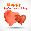 Valentines day card happy illustration Royalty Free Stock Images