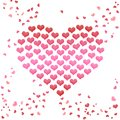 Valentines Day Card Heart of hearts