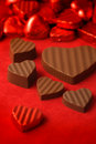 Valentines day chocolates 2 Stock Images