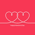 Valentines day concept vector background