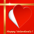 Valentines day design Stock Images