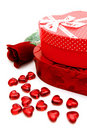 Valentines Day gifts Stock Images