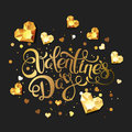 Valentines Day calligraphy lettering