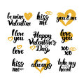 Valentines Day Hand Drawn Quotes