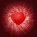 Valentines Day Heart background Royalty Free Stock Images