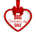 Valentines day heart sale. EPS 10