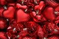 Valentines Day Hearts. Royalty Free Stock Photo