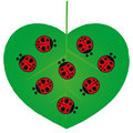 Valentines Day - Love Bugs - Illustration Royalty Free Stock Photo