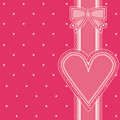 Valentines day old background illustration Royalty Free Stock Photos