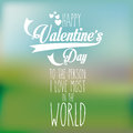 Valentines day over pattern background vector illustration Stock Photo