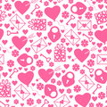 Valentines day pattern seamless