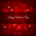 Valentines day red lights design background eps Stock Image