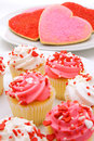 Valentines Day sweets Stock Images