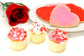 Valentines Day sweets Stock Photos