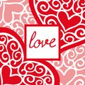 Valentines day vintage greeting card with the inscription