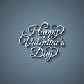 Valentines day vintage lettering background design Royalty Free Stock Photography