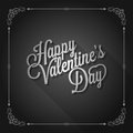 Valentines day vintage movie design background screen Stock Photo