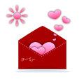 Valentines day and weeding cards Stock Images