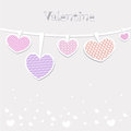 Valentines day and weeding cards Royalty Free Stock Images