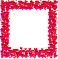 Valentines frame - vector Royalty Free Stock Photography