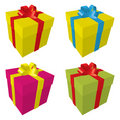 Valentines gift boxes Royalty Free Stock Image