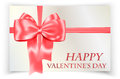 Valentines greeting card Stock Photography