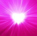 Valentines Hearts Abstract Pink Background Royalty Free Stock Photo