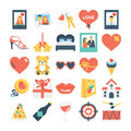 Valentines, Love, Romance, Marriage Vector Icons 7