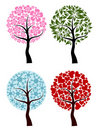 Valentines, spring, winter tree background,  Stock Images