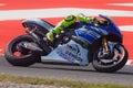 Valentino Rossi, MotoGP Montmelo Royalty Free Stock Photo
