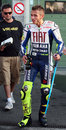 Valentino Rossi tested in Brno Royalty Free Stock Photos