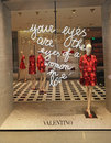 Valentino store front at a shopping mall in las vegas Royalty Free Stock Photo