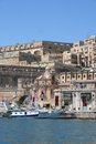 Valetta Skyline, Malta Royalty Free Stock Photos