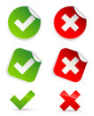 Validation icons Royalty Free Stock Photo
