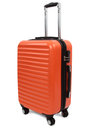 Valise orange Photo stock