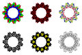 Valknut vector pattern,