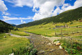Vall d'Incles in Andorra Royalty Free Stock Photo